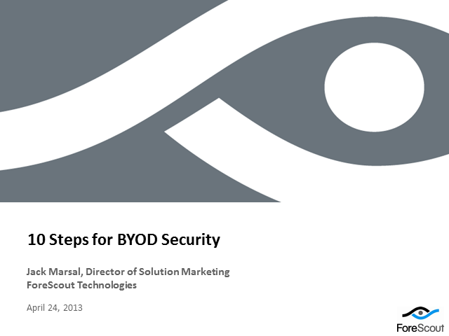 Top 10 BYOD Tips: Managing Flexibility and Security