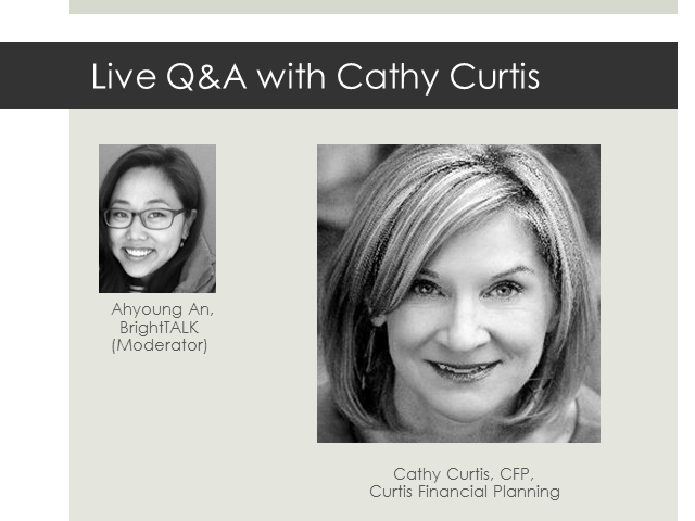 Live Q&A with Cathy Curtis [Social Media, Branding, Referrals]