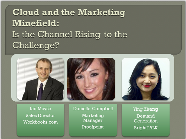 Cloud and the Marketing Minefield: Is the Channel Rising to the Challenge?