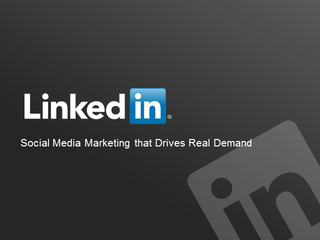 Social Media Marketing that Drives Real Demand - How to Move from Likes to Leads