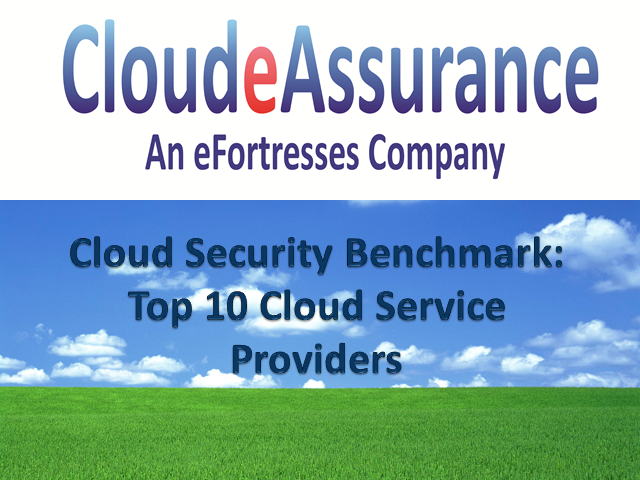 Cloud Security Benchmark: Top 10 Cloud Service Providers