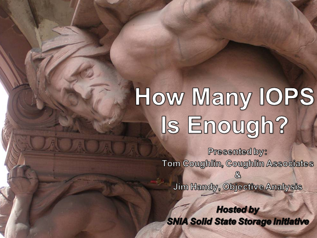 How Many IOPS Is Enough?