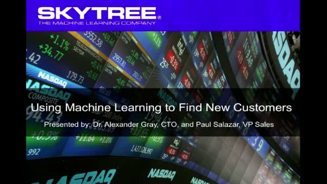 Using Machine Learning to Find New Customers