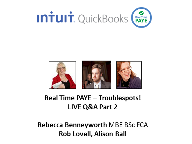 RTI Live Q&A Part 2 with Rebecca Benneyworth