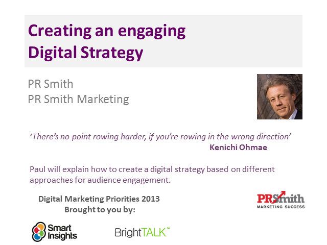 Creating an engaging Digital Strategy