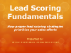 Lead Scoring Fundamentals