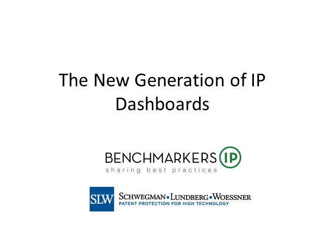 The New Generation of IP Dashboards