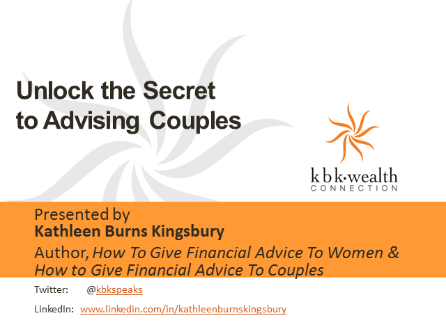 Unlock the Secret to Advising Couples