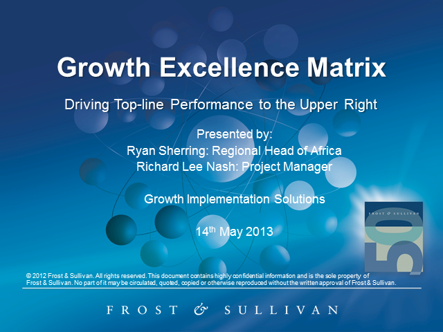 The Growth Excellence Matrix: Driving Top-Line Growth