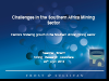 Challenges in the Southern Africa Mining Sector