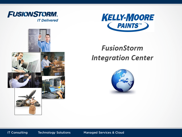 FusionStorm Integration Center