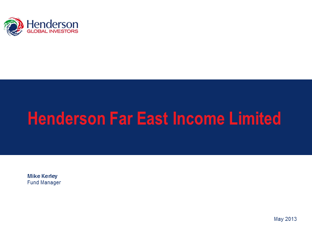 Henderson Far East Income Limited