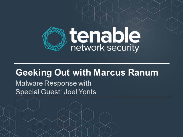 Geeking Out with Marcus Ranum - Malware Response