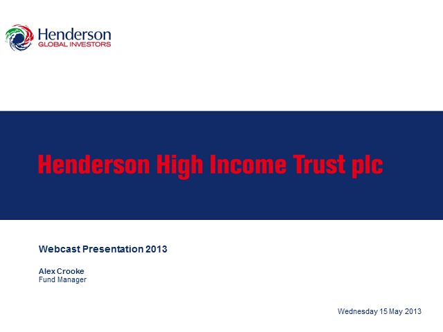 Henderson High Income Trust plc