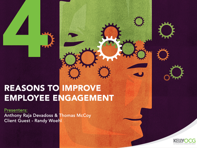 4 Reasons to Improve Employee Engagement