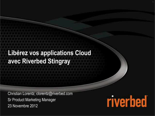 Questions de performance - Libérez vos applications Cloud avec Riverbed Stingray