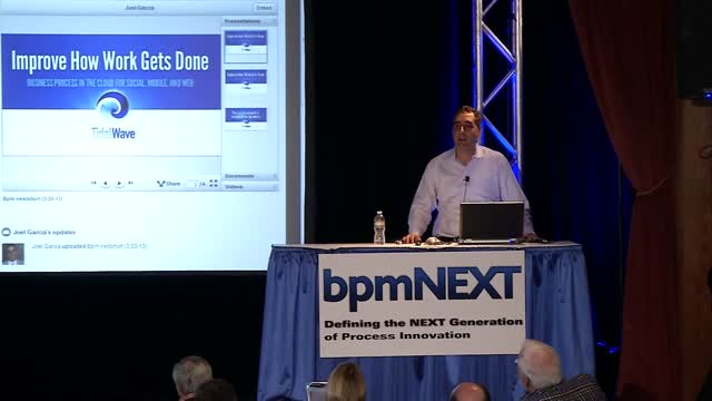 bpmNEXT 2013: Social Process in the Cloud with Facebook