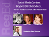 Roundtable: Social Media Content – Beyond 140 Characters…