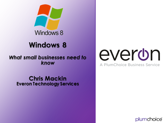 Windows 8:  What Small Businesses Need to Know