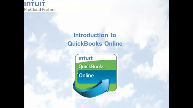 Introduction to Intuit QuickBooks ProCloud