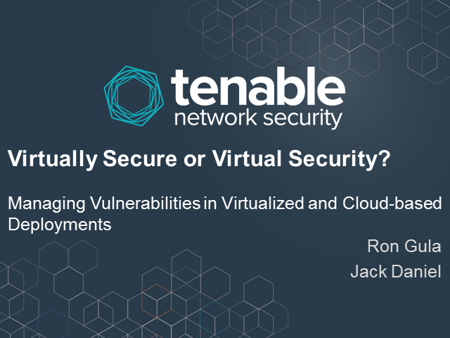 Managing Vulnerabilities in Virtualized and Cloud-based Deployments