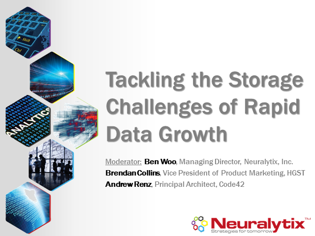 Tackling the Storage Challenges of Rapid Data Growth