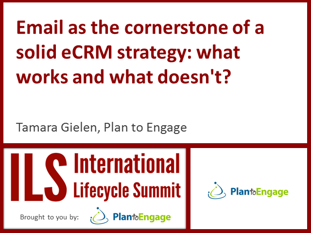 Email as the cornerstone of a solid eCRM strategy: what works and what doesn't?