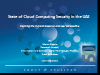State of Cloud Computing Security in the UAE