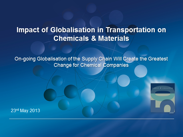 Globalization in Transportation is Changing Demand for Chemicals and Materials