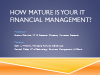 How Mature is your IT Financial Management?