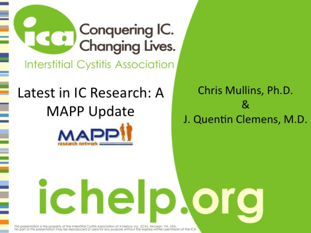 Latest in IC Research: A MAPP Update