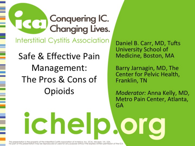 Safe & Effective Pain Management: The Pros and Cons of Opioids