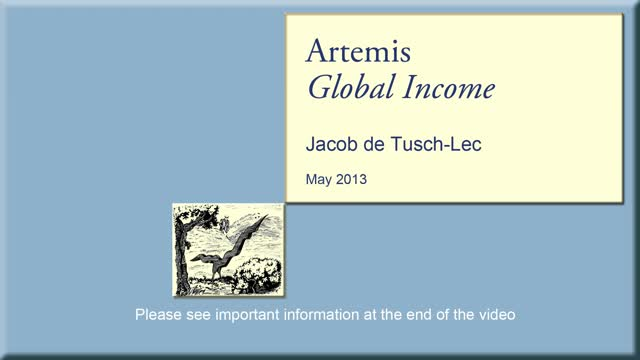 Artemis Global Income - May 2013
