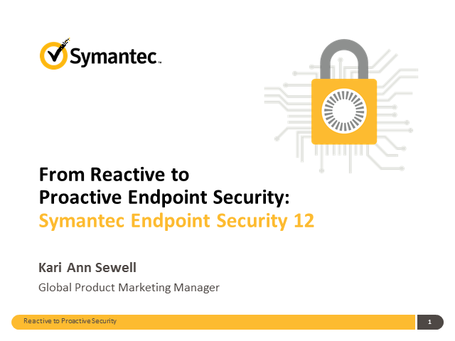 Getting From Reactive to Proactive Endpoint Security
