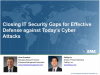 Closing IT Security Gaps for Effective Defense against Today's Cyber Attacks
