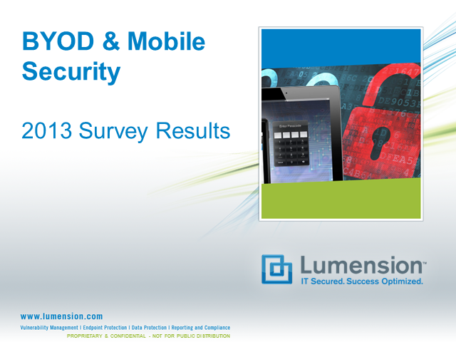 BYOD & Mobile Security: How to Respond to the Security Risks