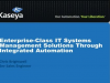 Enterprise-Class IT Systems Management Solutions Through Integrated Automation
