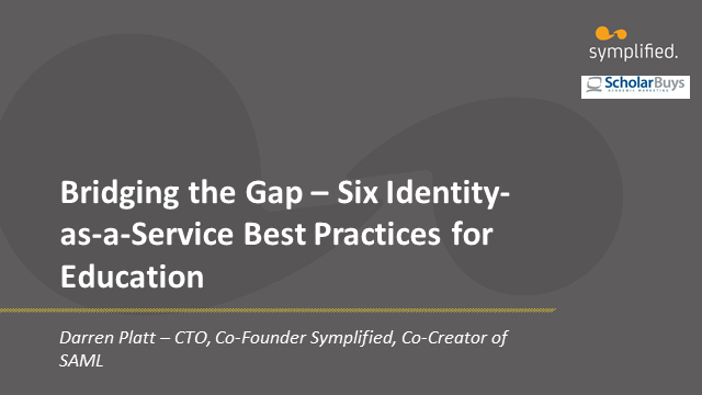 Bridging the Identity Gap - 6 Identity-as-a-Service Best Practices for Education