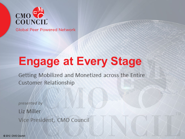 Applying MRM: Trends in Mobile Engagement and CMO Council's Path to Mobility