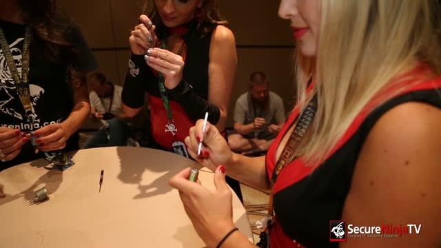 DEFCON 20: Secure Ninja Girls Lockpicking 101