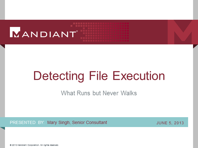 Detecting File Execution: What Runs but Never Walks