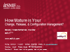 How Mature is your Change, Configuration and Release Management?