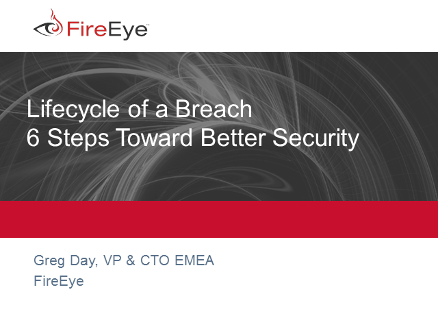 Lifecycle of a Breach – 6 Steps Toward Better Security