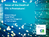 Rumors of ITIL's Death Have Been Greatly Exaggerated (1 priSM CPD)