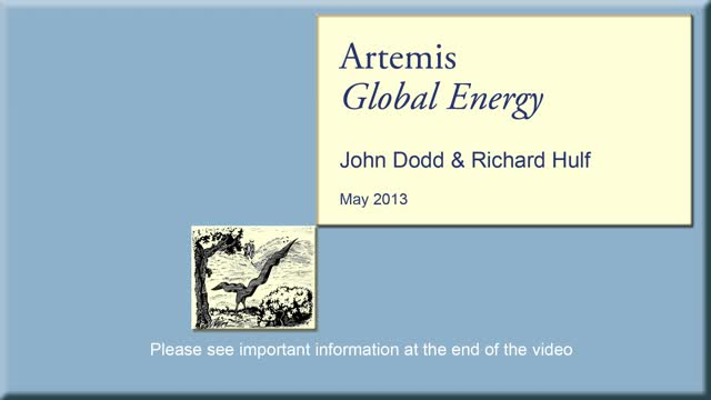 Artemis Global Energy - May 2013