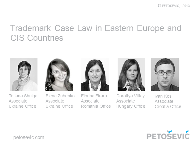 Trademark Case Law in Eastern Europe and the CIS Countries