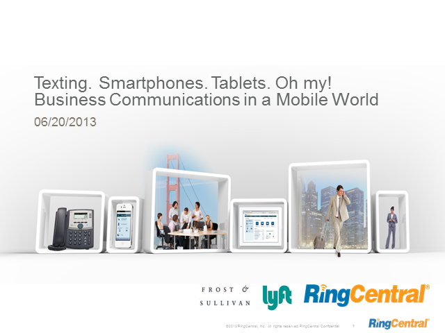 Texting. Smartphones. Tablets. Oh my! Business Communications in a Mobile World