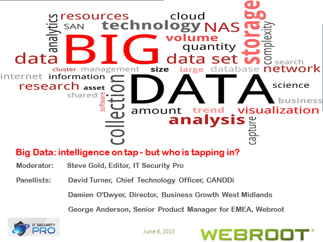Big Data: intelligence on tap - but who is tapping in?