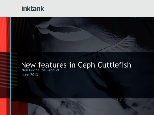 What's New In The Ceph Cuttlefish Release?