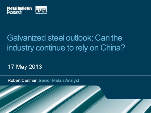 Galvanized Steel Outlook